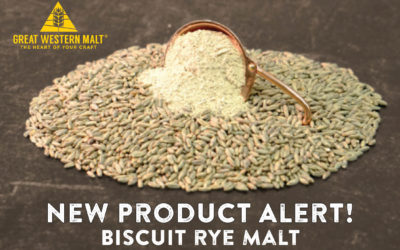 New Product! Great Western Malting's Biscuit Rye Malt